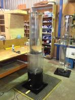 Water vortex device